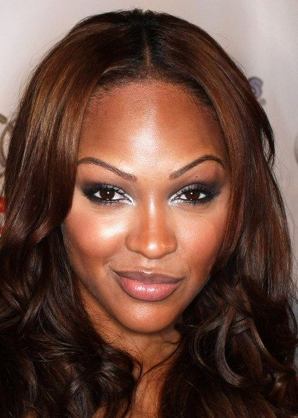 Meagan good face pic nails nails nails pinterest