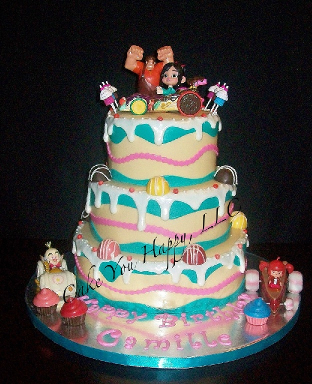 Wreck It Ralph Cake Designs