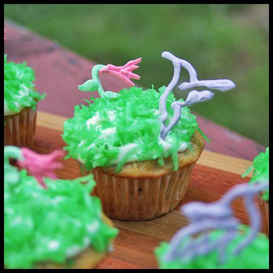 Hummingbird Cupcakes | Cupcakes & Cakes | Pinterest
