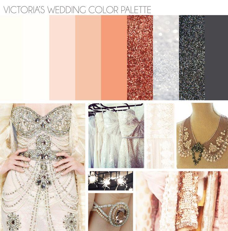 Palatte color palettes pinterest - Gold and silver color scheme ...