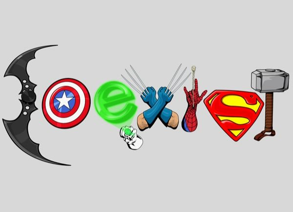"Coexist DC Marvel (I LOVE the ""coexist"" geek symbols)"