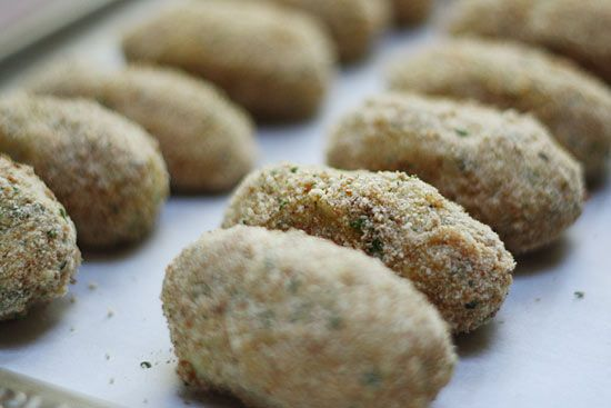 Skinnytaste Baked turkey croquettes. wonder if this would work for ...