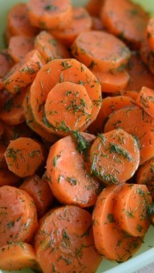 Glazed Carrots with Dill | Recipe
