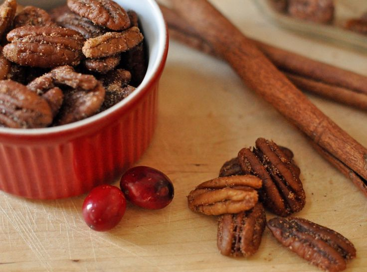 Candied Spice Pecans | Appetizers | Pinterest