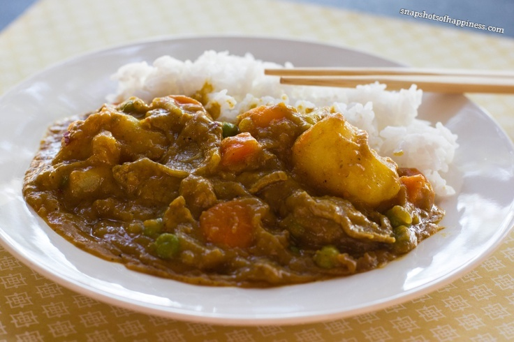 Spicy Japanese Beef Curry Rice. | Recipes | Pinterest