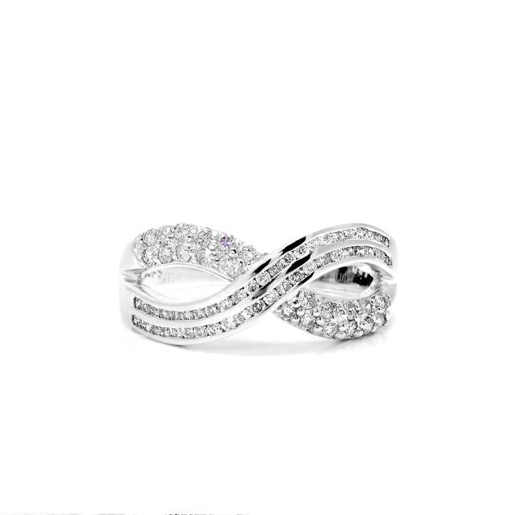 Infinity Diamond Ring Looks Almost Like My Wedding Band