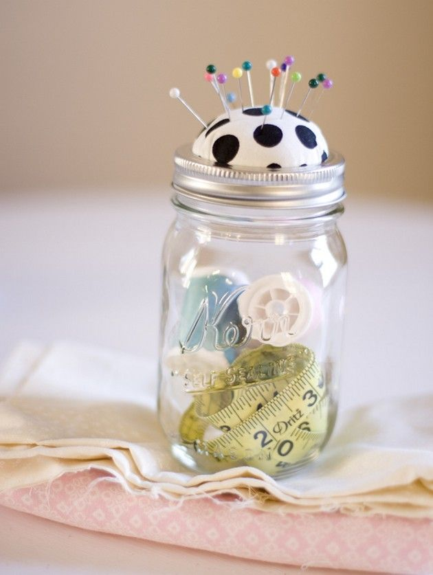 Mason Jar Craft Ideas (21 Pics)
