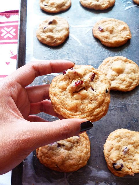 Raspberry Bloom: White Chocolate Cranberry Cookies by Raspberry Bloom ...