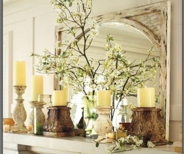 Mantel Home Decorating Ideas Pinterest