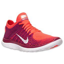Women's Nike Free Flyknit 4.0 Running Shoes   FinishLine.com   Bright