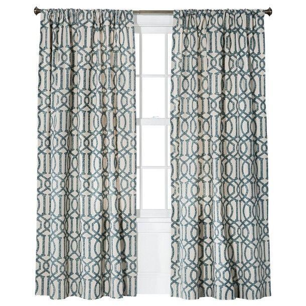 Threshold™ Farrah Lattice Window Panel | Family Room | Pinterest