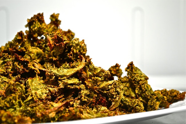 Cheesy (Vegan) Kale Chips | The Good Life | Pinterest