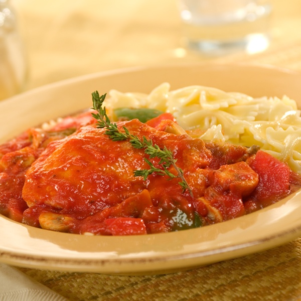 Quick & Easy Chicken Cacciatore #recipe #chicken