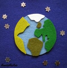 Earth felt craft