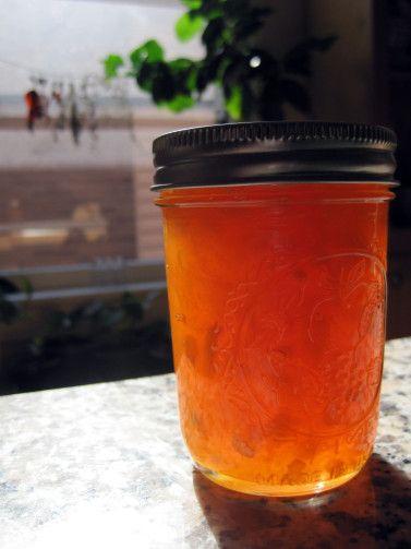 peach corn bourbon jam | Recipes to try | Pinterest