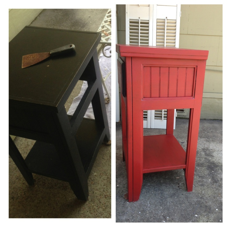 Second Annie Sloan Chalk Paint Project Crafty Pinterest View