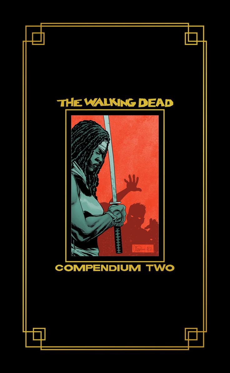 The walking dead compendium two cover zombies pinterest