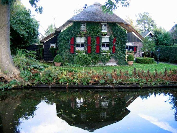 Giethoorn Netherlands Interesting Places Pinterest