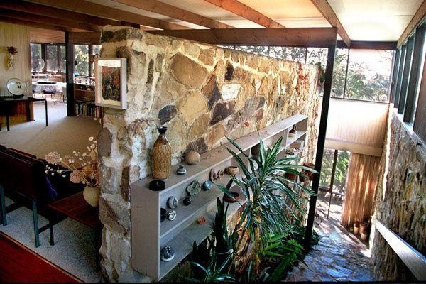 Innesgillen: built 1963 - 84 Kangaroo Ground Road Warrandyte. A Robin Boyd  designed home. Picture: Michael Rayner 1989.