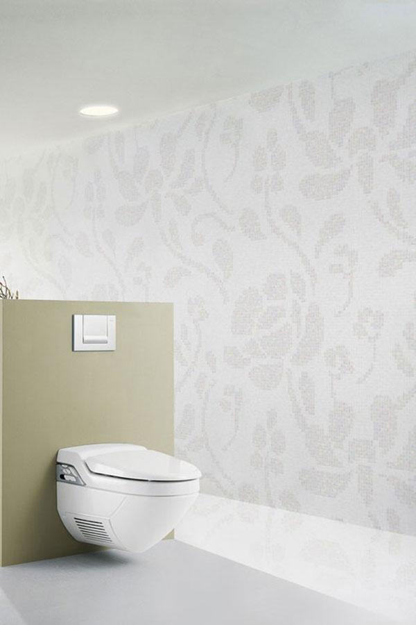 Bamboe Hout Badkamer ~ Wat een subtiele mozaiekwand  Badkamer  Pinterest