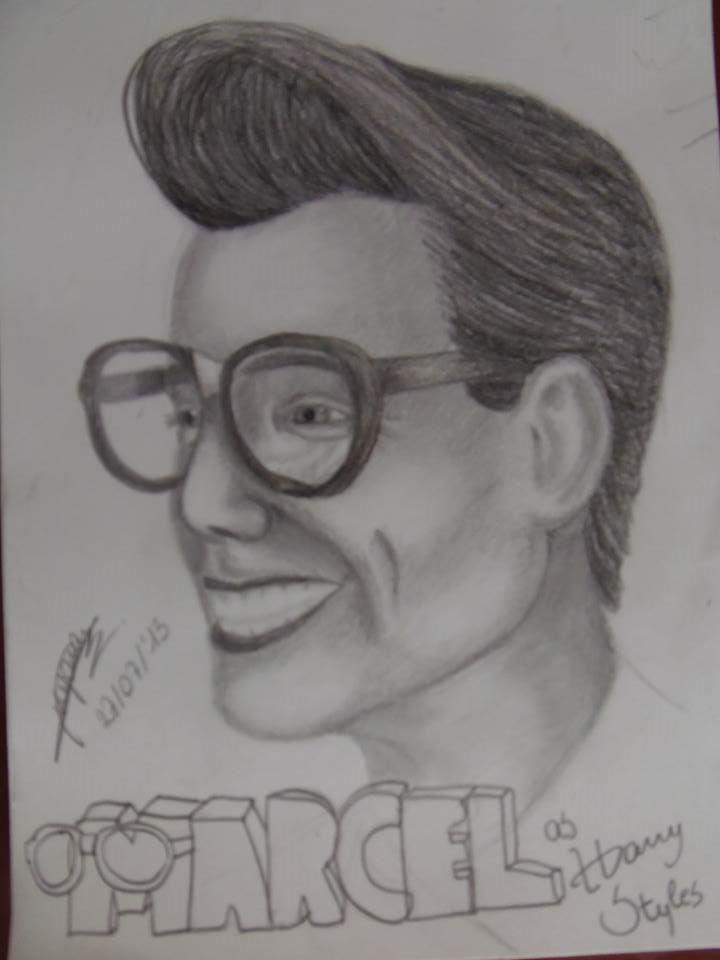 Marcel (Harry Styles) | My drawings | Pinterest