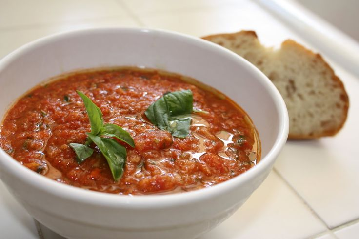 Tuscan Tomato and Bread Soup - Pappa al Pomodoro http://www ...