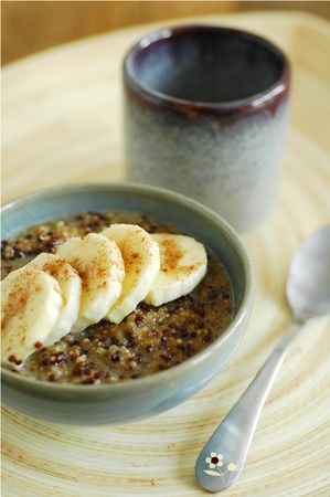 Porridge quinoa | Miam / petit déjeuner | Pinterest