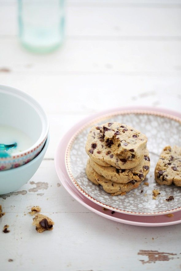 Gluten-free chewy chocolate chip cookies   Yummy   Pinterest