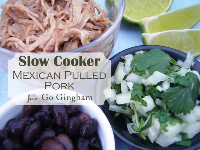 Slow Cooker Mexican Pulled Pork #Easy #Recipe - Make it once and ...