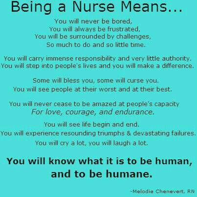 facts about being a nurse