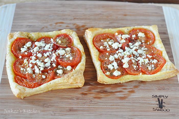 Easy Tomato Tart | Entrees | Pinterest