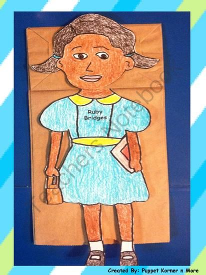 ... paper bag for puppet or glued on to a construction paper or card stock