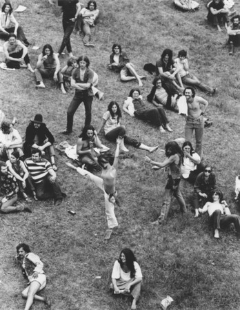 """""""Hippies"""" - a collection of photographs by Richard Busch is currently on display at The Cooley Gallery."""