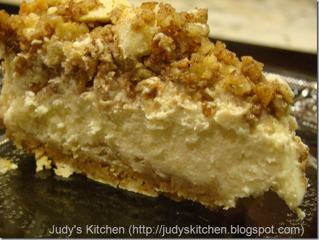 Apple Pecan Cheesecake | recipes | Pinterest