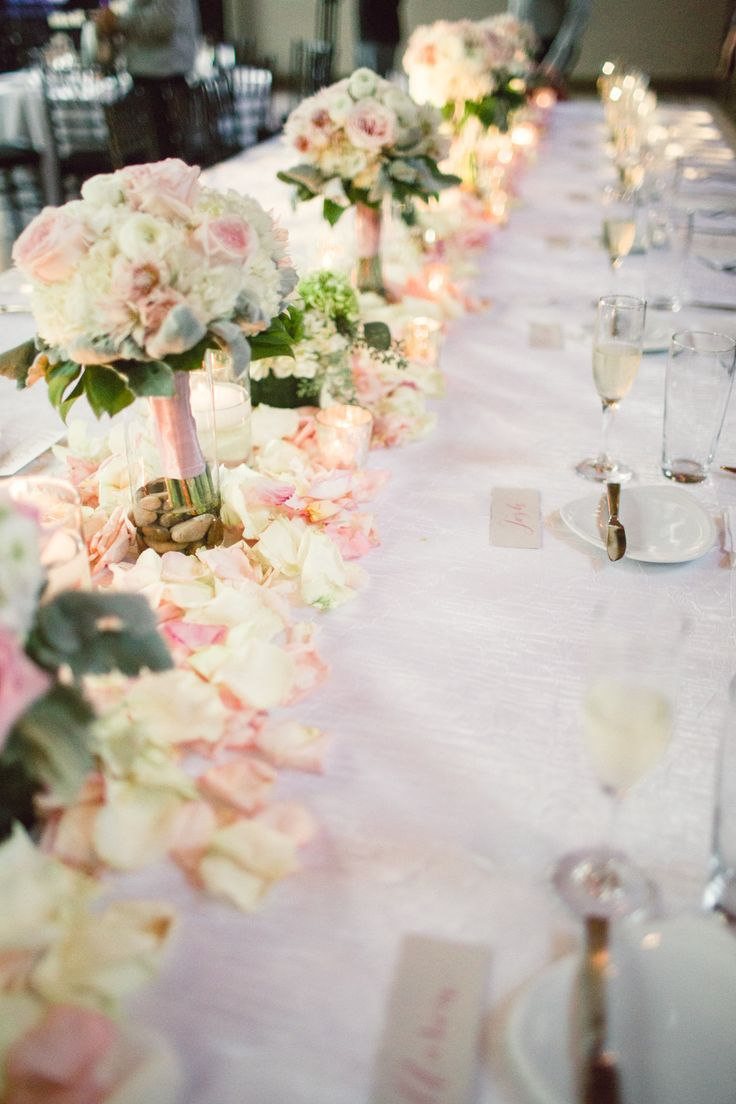 20 BudgetFriendly Wedding Centerpieces Rose petals - induced.info