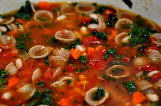 Tomato, white bean, pasta soup.   Recipies to try   Pinterest