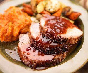 Roast Pork with Plum Sauce | Recipe
