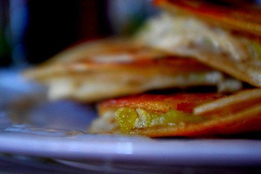... , Sour Cream, & Green Chili Quesadillas - Shannon Nourishing Days
