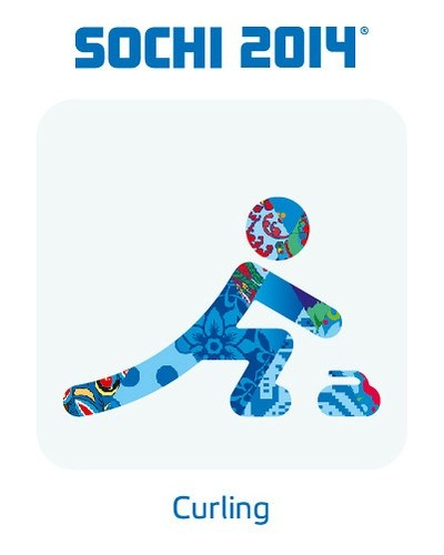 2014 Sochi Winter Olympic Games: Curling Pictogram