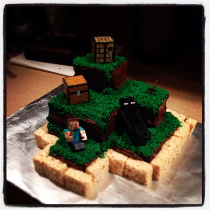 Decorating Ideas > Minecraft Cake  Cake Decorating  Pinterest ~ 024119_Cake Decorating Ideas Minecraft