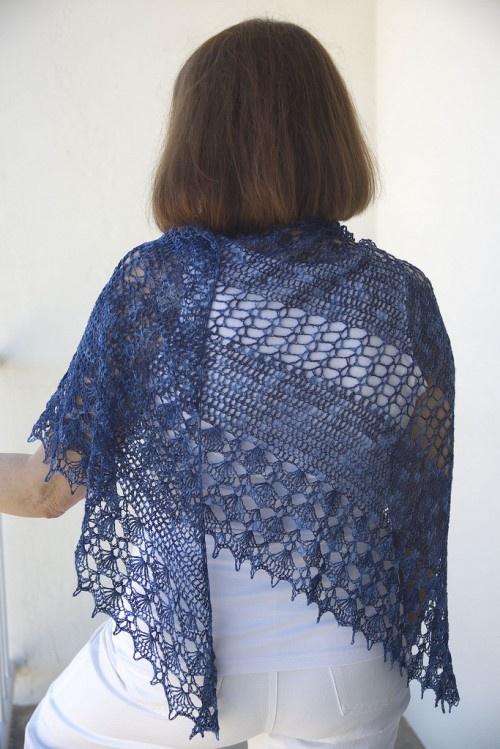 summer breeze crocheted shawl pattern Scarves, Cowls ...
