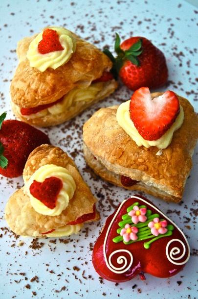 Strawberry Napoleons | Food 2 | Pinterest