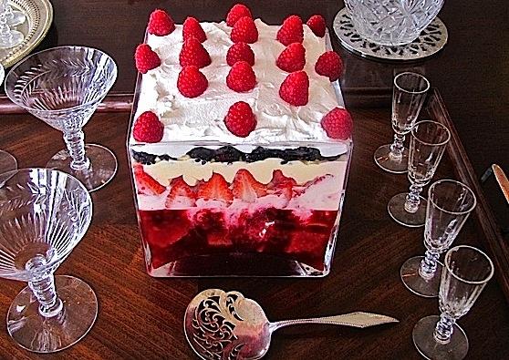 English Trifle   Fairy Birthday   Pinterest