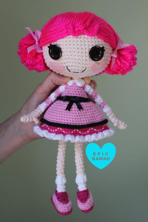 Crochet Wedding Dolls Pattern : PATTERN: Lalaloopsy Toffee Cocoa Cuddles Crochet Amigurumi ...