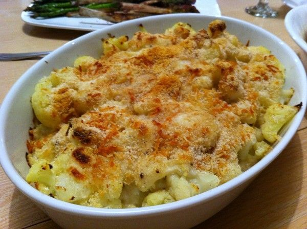 Cheese Cauliflower Gratin | yummmmmy | Pinterest