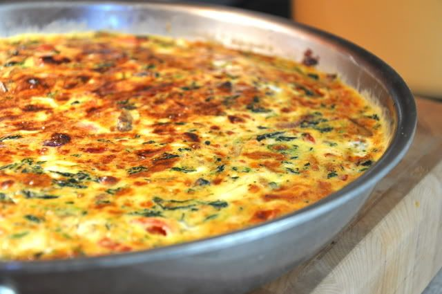 pasta frittata frittata aromatica greek frittata recipe by meatless ...