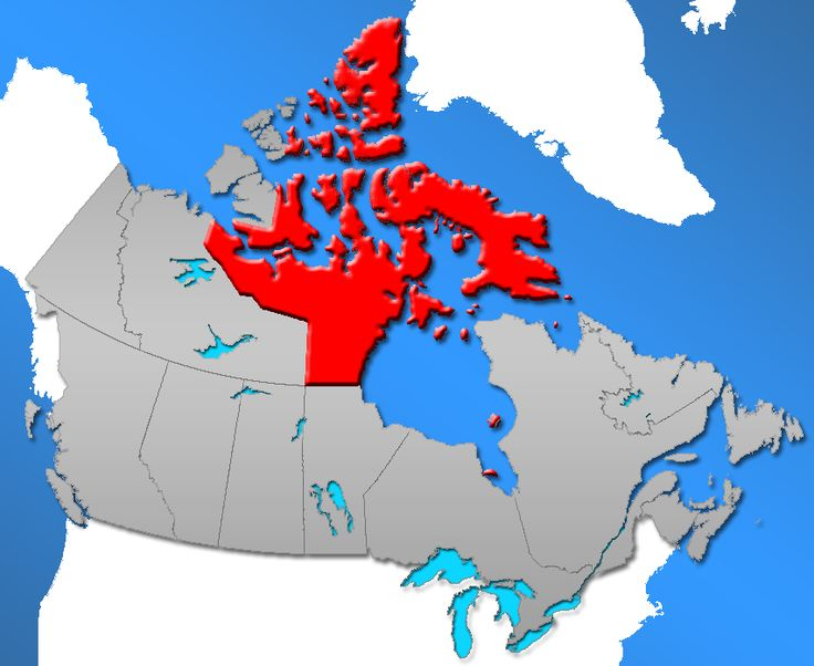 nunavut land claims agreement map
