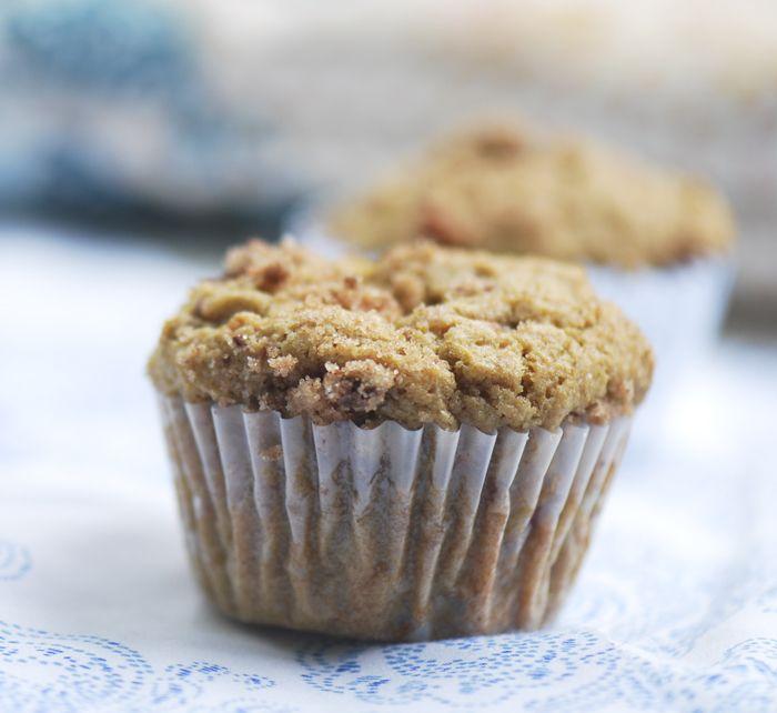 rhubarb muffins Weight Watchers
