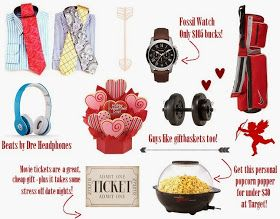 ... 2014 Valentine's Gift Ideas for Him #fossil #watch #beatsbydre #target
