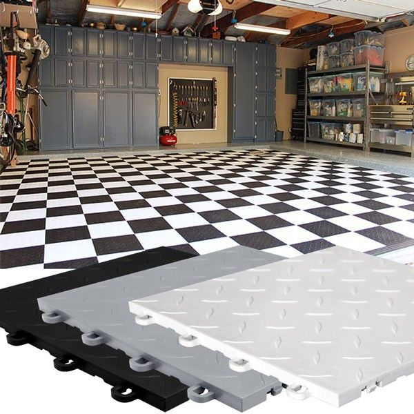 Photos of Different Garage Flooring Options